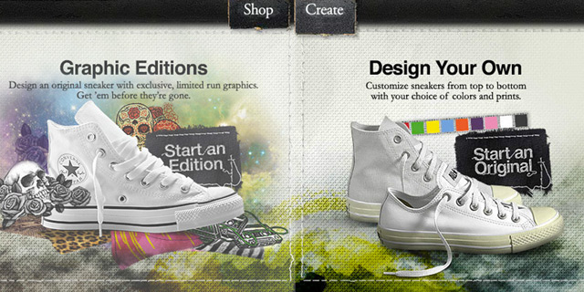 Creative Stuff: Converse ~ Design your own!