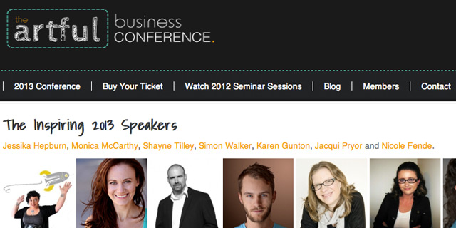 Events: The Artful Business Conference
