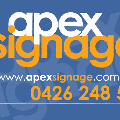 APEX Signage ~ to be seen