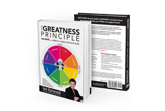 The Greatness Principle, Jen Harwood