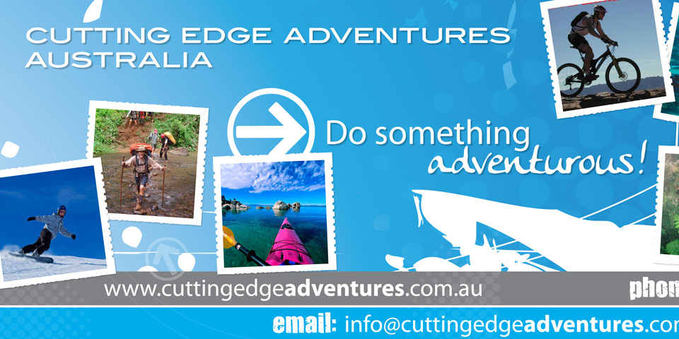 Cutting Edge Adventures Australia / Queenstown Schoolies ~ a branding adventure