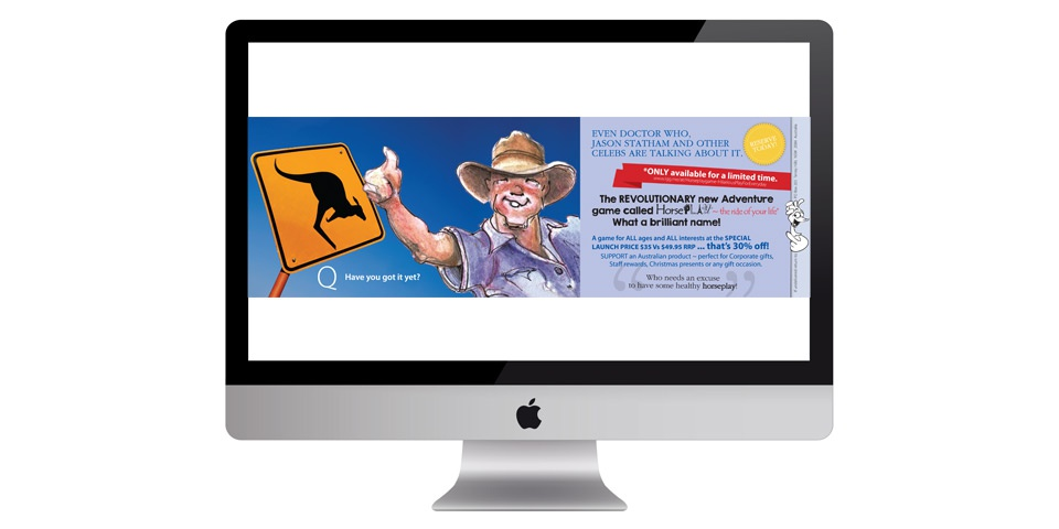 Email & Online Graphics ~ Finalising with a statement