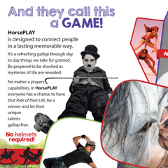 HORSEPlay ~ Outrageous, Awesome Packaging Fun!