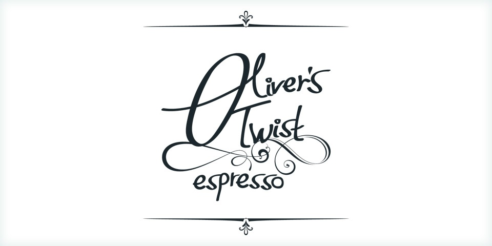 Oliver's Twist ~ the twist in the coffee