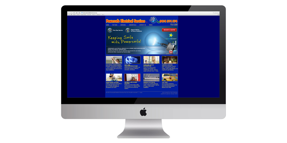 Powersafe Electrical Services ~ the power of the web