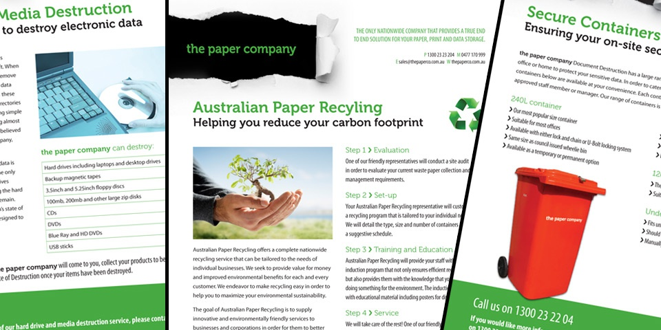 The Paper Company ~ not just about the paper