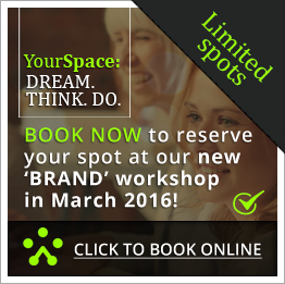 Book now for your place at our new 'brand' workshop in March 2016